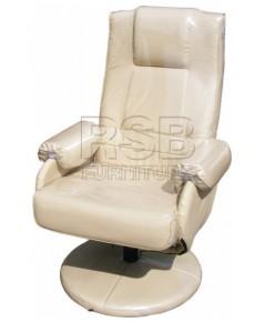 เก้าอี้พักผ่อน เก้าอี้ร้านเกมส์ ฐานจานกลม รับน้ำหนัก 130 KG รหัส 2906