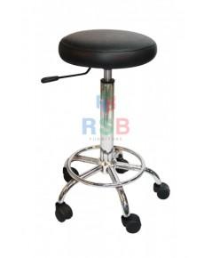 เก้าอี้บาร์ ขาเหล็กล้อ 5 แฉก รหัส 3035