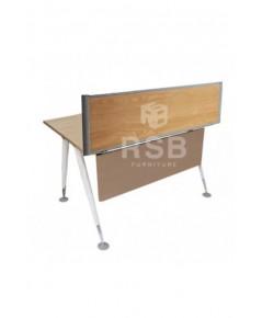 มินิสกรีนไม้ ติดตั้งบนโต๊ะ สามารถเลือกสีไม้ได้ รหัส 3041