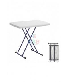 โต๊ะพับเอนกประสงค์ ปรับระดับได้ พกพาเคลื่อนย้ายง่าย รหัส 3094