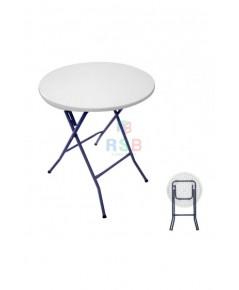 โต๊ะพับกลม ขนาด 60 cm รับน้ำหนัก 70 KG รหัส 3099