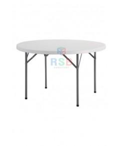 โต๊ะพับกลม อเนกประสงค์ 4 ฟุต รับน้ำหนัก 200 KG  รหัส 3100