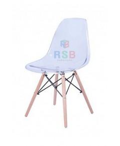 เก้าอี้ Design chair สไตล์สแกนดิเนเวียน ที่นั่งแบบใส รหัส 3108
