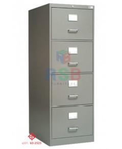 ตู้เก็บเอกสารเหล็ก 4 ลิ้นชัก มาตรฐานตู้ มอก. ขนาด 47 x 62 สูง 132 cm รหัส 3344