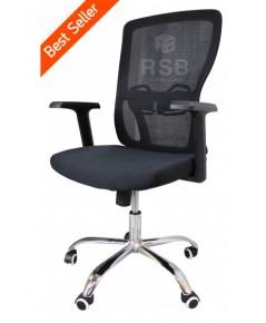 เก้าอี้สำนักงาน โครงเก้าอี้แบบหนา พนักพิงตาข่าย รุ่นขายดี รหัส 3345