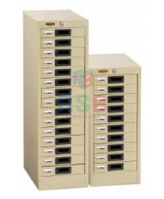 ตู้เก็บบัตร ตู้เหล็ก LUCKY รุ่น DR-110 / DR-115  แบบลิ้นชัก มี จำนวน 10 และ 15 ลิ้นชัก รหัส 3361