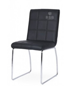 เก้าอี้ ขาเหล็กตัว C  เบาะหนานุ่ม รหัส 3657