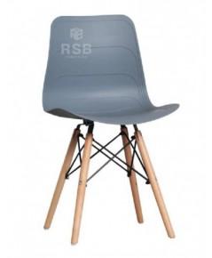 เก้าอี้ Design chair  สีพาสเทล ขาไม้เชื่อมต่อเหล็กเส้น รหัส 3659