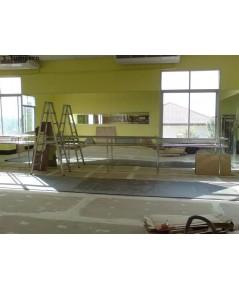 เคาน์เตอร์บาร์โทนสแตนเลส Stainless Steel Counter