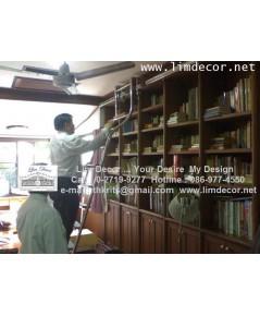 บันไดชั้นหนังสือสเเตนเลสรุ่น Classic LD-F419(Stainless Steel Ladder Classic Model) LD-F419