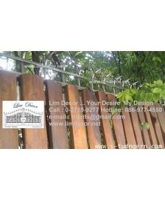 รั้วลูกศรสแตนเลส   LD-B228 (Stainless Steel Fence)