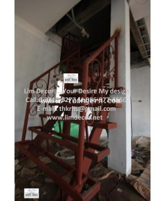 บันไดวนเหล็ก Metal Steel Winder Stair LD-B316 @ Ladprao 87 Section 23