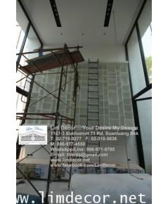 บันไดชั้นหนังสือสูงได้ดั่งใจ LD-F660 (Metal Steel Ladder Bookshelf – Scalable Model)