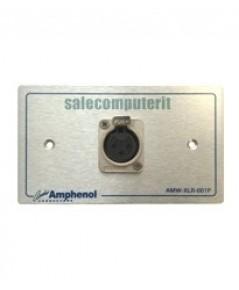 Amphenol Outlet Plate  AMW-XLR-01P