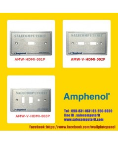 Amphenol Outlet Plate  AMW-BLANK