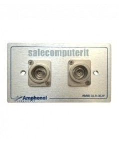Amphenol Outlet Plate  AMW-BNC-02P