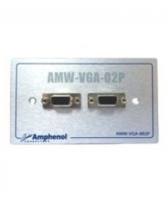Amphenol Outlet Plate AMW-VGA-02P