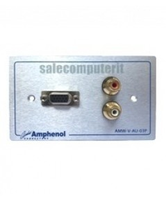 Amphenol Outlet Plate AMW-V-AU-03P