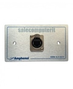 Amphenol Outlet Plate AMW-RJ45-01P