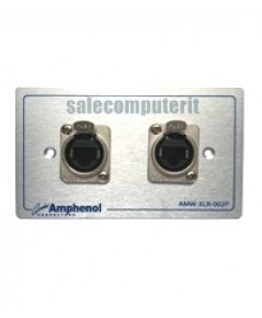 Amphenol Outlet Plate AMW-RJ45-5T-02P