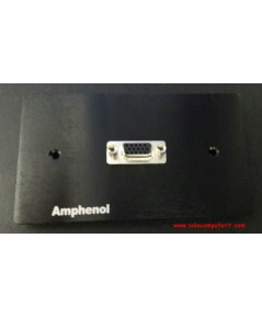 Amphenol Outlet Plate VGA 1 Port