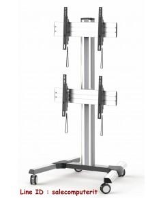 ขาตั้งทีวี METALNIC MT-F8000 ขนาด 45-55นิ้ว  แขวนทีวี 2 จอ