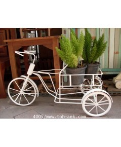 รหัสสั่งซื้อ 4005 : จักรยานเหล็กดัดใส่กระถางต้นไม้