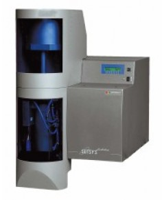 Simultaneous tga  dta or dsc thermal analyzer setsys evolution