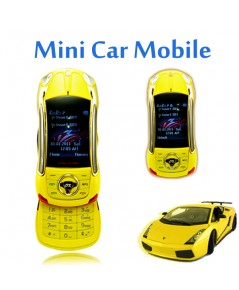 จำหน่าย โทรศัพท์มือถือ 2 ซิมสีเหลืองแบบสไลด์ รูปแบบรถสปอร์ตสุดเท่ห์แบบพับได้ ราคาประหยัด(พรีออเดอร์)