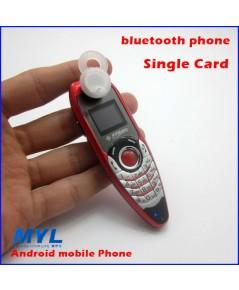 จำหน่าย โทรศัพท์มือถือ Bluetooth mobile phone,mini Car Phone สีแดง ราคาประหยัด (พรีออเดอร์)