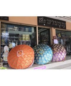 สัปทนผ้าตาด ผ้าดอก ผ้าซาติน  ผ้าไหม ผ้าลูกไม้  ร้านสะพานบุญ