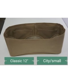 ที่จัดระเบียบกระเป๋า Chanel classic 12 นิ้ว สีเบจ