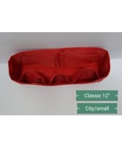 ที่จัดระเบียบกระเป๋า Chanel classic 12 นิ้ว สีแดง