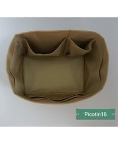 ที่จัดระเบียบกระเป๋า Hermes Picotin 18 สีเบจ