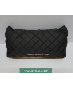 หมอนดันทรงพรีเมี่ยม Chanel Classic 10 นิ้ว สีดำ