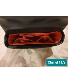 ที่จัดระเบียบกระเป๋า Chanel 19 small สีแดง