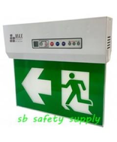 กล่องไฟทางหนีไฟ กล่องไฟทางออก สลิมไลน์ EXB203TRE,EXB203TCE Slimline Exit Sign Lighting Max Bright