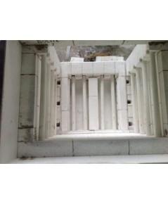 ซ่อมเตาไฟฟ้า ก่ออิฐใหม่ ใส่เซรามิคทิ้วใหม่