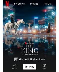 The King Eternal Monarch จอมราชัน บัลลังก์อมตะ (Sub Thai 4 แผ่นจบ)