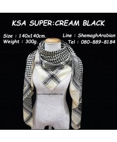 KSA SUPER : CREAM-BLACK