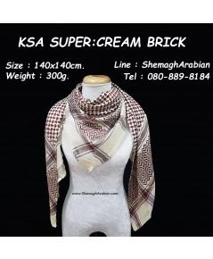 KSA SUPER : CREAM-BRICK