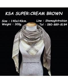 KSA SUPER : CREAM-BROWN