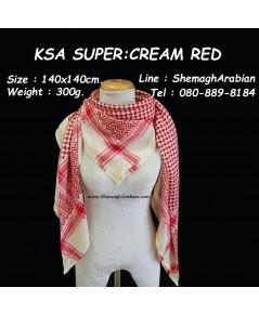 KSA SUPER : CREAM-RED