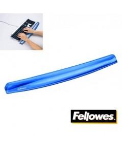 แท่นเจลรองข้อมือ สำหรับคีย์บอร์ด สีน้ำเงิน Fellowes