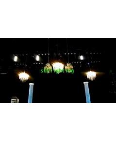 งานเช่าโคมไฟแชนเดอร์เรีย และคริสตัลตั้งพื้น ตั้งโต๊ะ จัดเวที งานอีเว้นท์