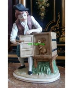 ตุ๊กตา กระเบื้องPorcelain งานยุโรป เบลเยี่ยม