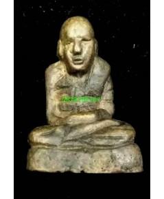 รูปหล่อโบราณ รุ่นแรกหลวงพ่อทองอยู่  วัดบางหัวเสือ  จ.สมุทรปราการ