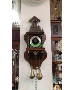 นาฬิกาแขวนผนังโบราณ ฮอลแลนด์ ขนาดกลาง  ขายแล้ว