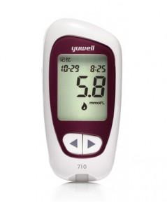 เครื่องตรวจวัดระดับน้ำตาลในเลือด รุ่น ACCUSURE 710 ผลิตภัณฑ์ YUWELL