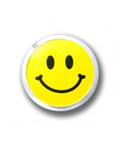 ป้ายชื่อยิ้ม ทรงกลม อะคริลิค Size M บรรจุ 12 ชิ้น ต่อแพค